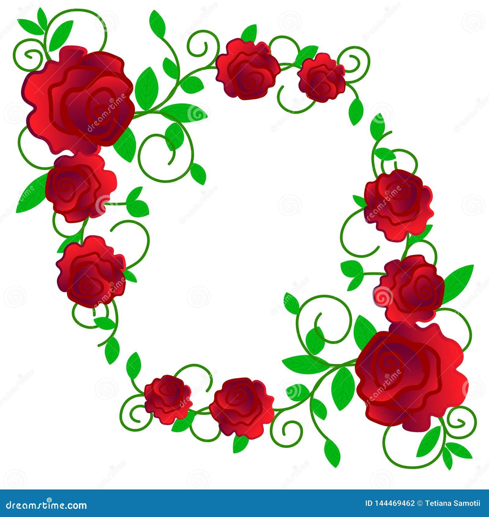 Сеть Поздравительную открытку с розами, акварель, можно использовать как карта приглашения для свадьбы, дня рождения и других пра
