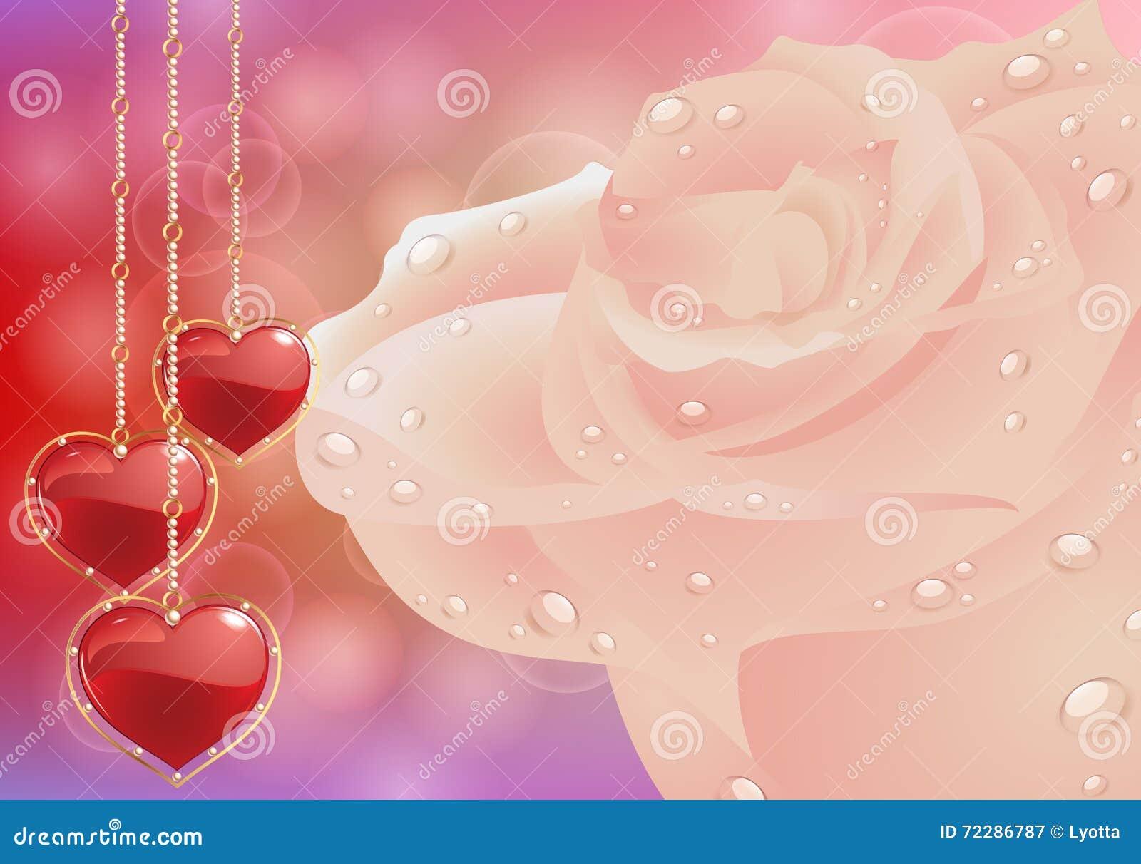 Download Поздравительная открытка с сердцами цветков День матери карточки, день валентинки Иллюстрация вектора - иллюстрации насчитывающей чувствительно, borgia: 72286787