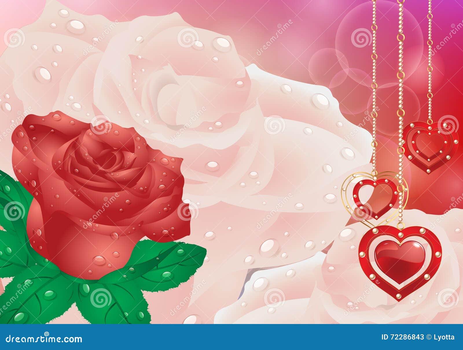 Download Поздравительная открытка с сердцами цветков День матери карточки, день валентинки Иллюстрация вектора - иллюстрации насчитывающей красивейшее, чувствительно: 72286843