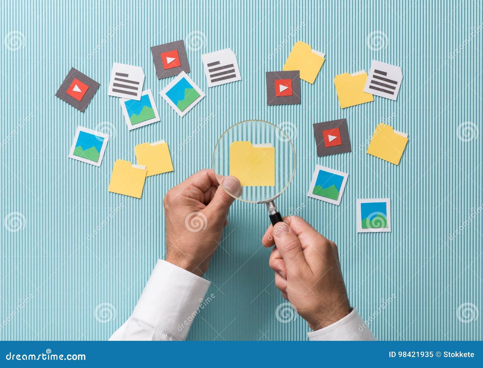 Поиск и анализ файла
