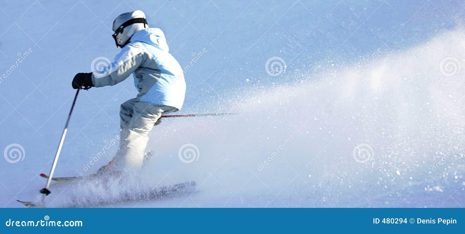 покатое катание на лыжах 2