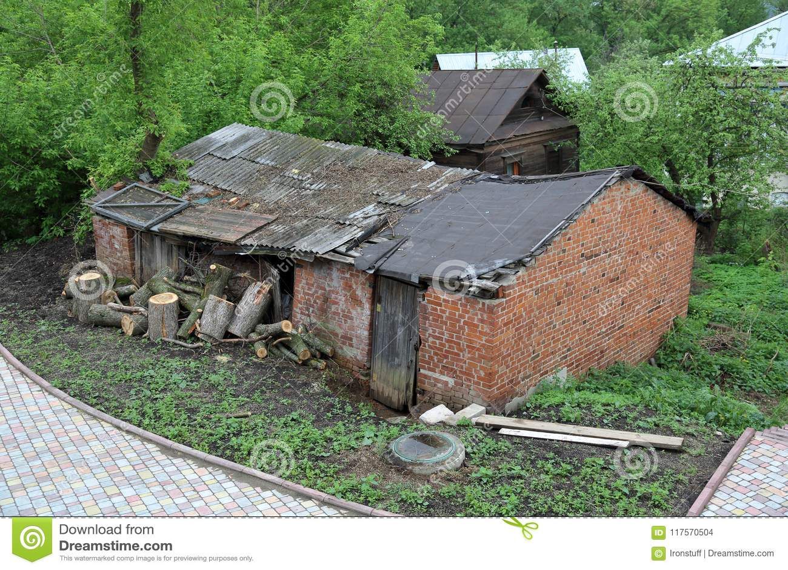 покинутая дом старая
