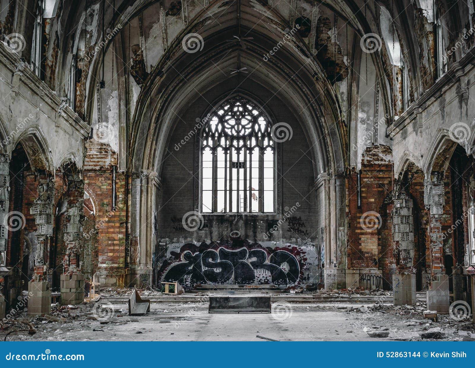 покинутая церковь