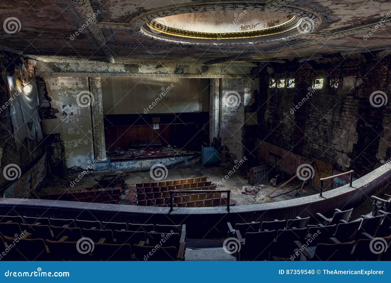 Покинутый театр - буйвол, Нью-Йорк