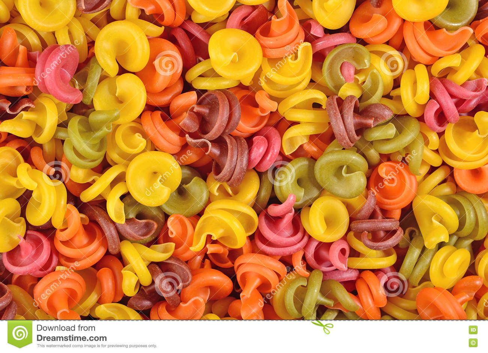 Download Покрашенная итальянская предпосылка макаронных изделий Стоковое Фото - изображение насчитывающей съешьте, органическо: 72286504