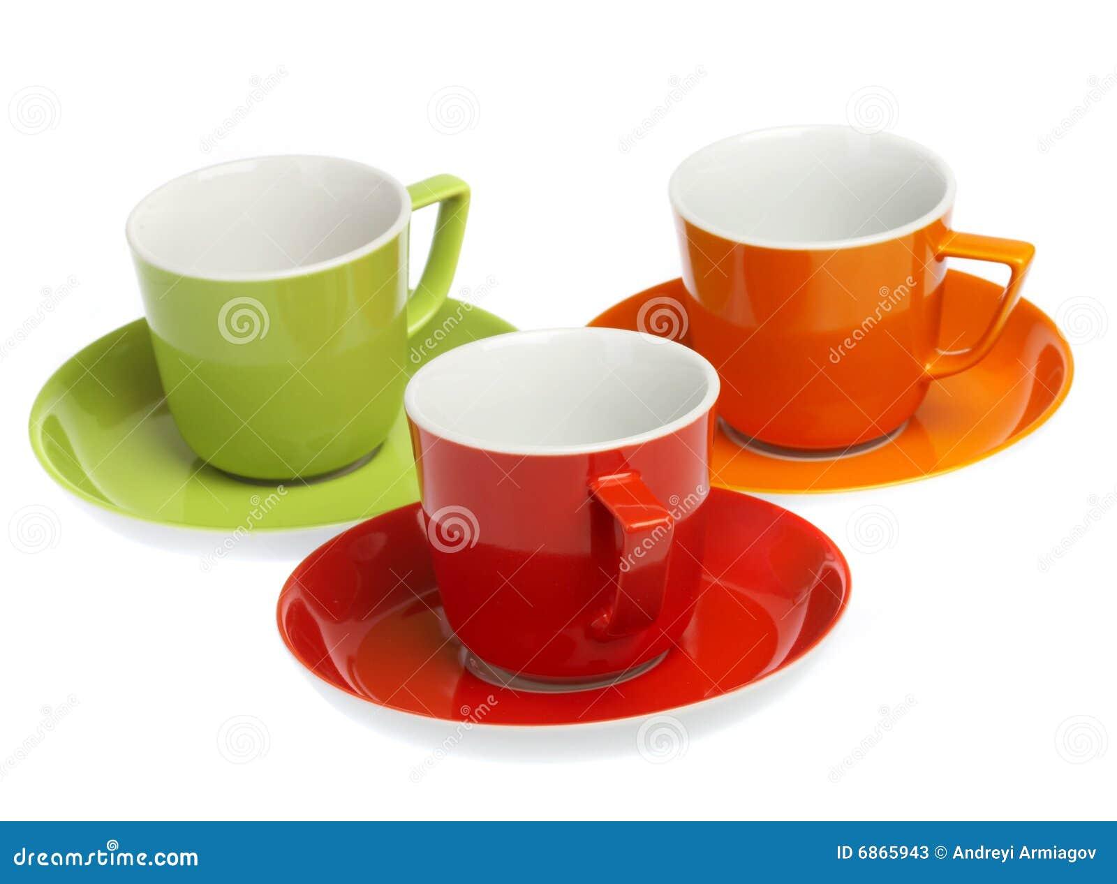 покрашенная предпосылка придает форму чашки multi белизна 3