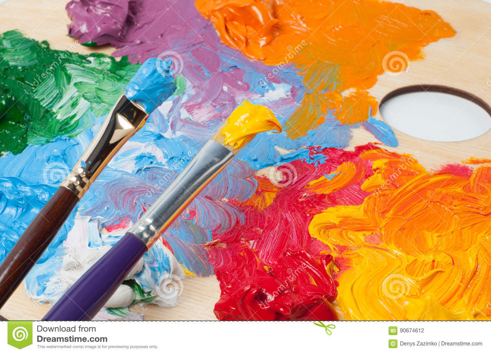 окрашенная моими красками картинки