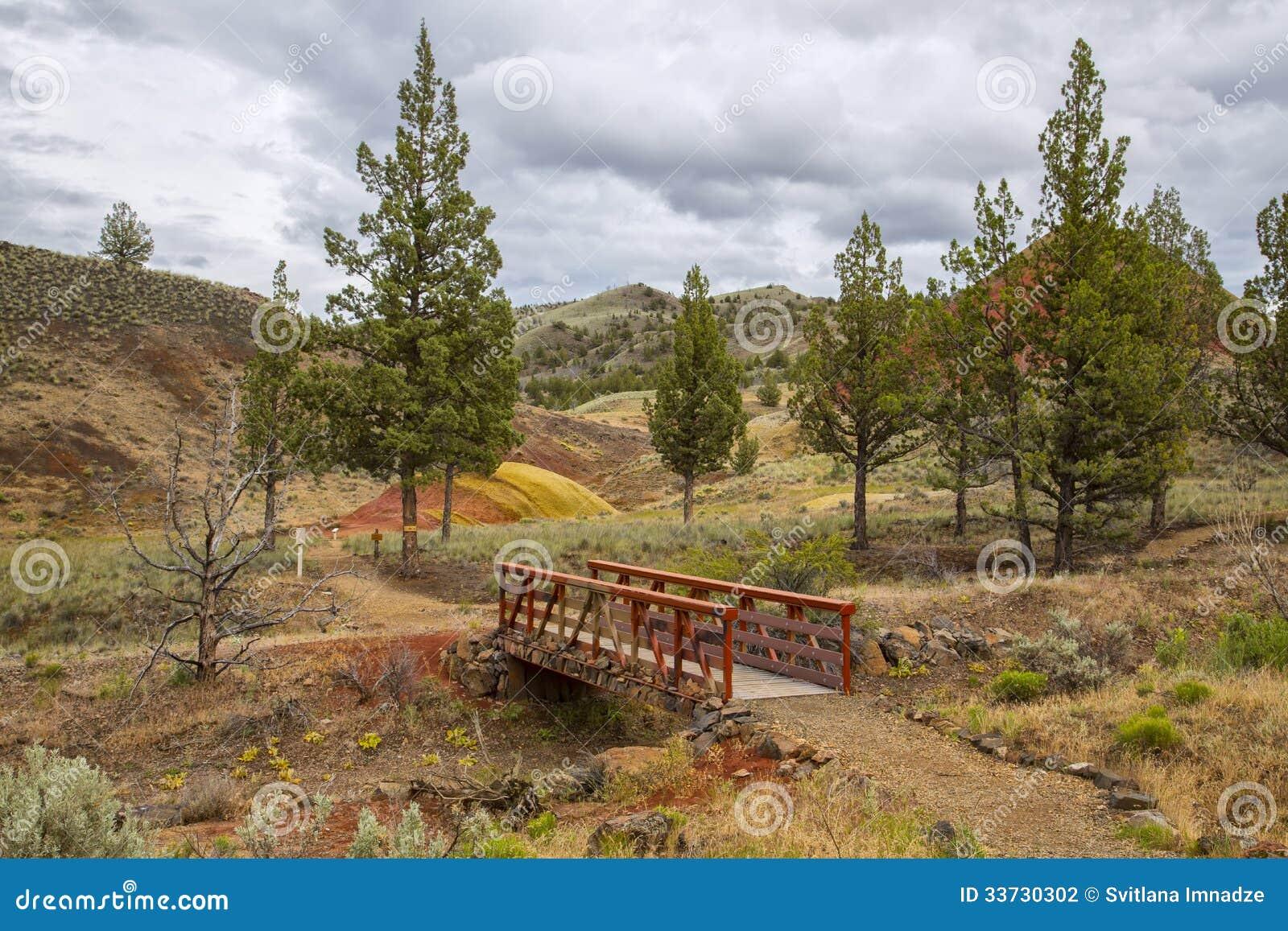 Покрашенные холмы, Орегон