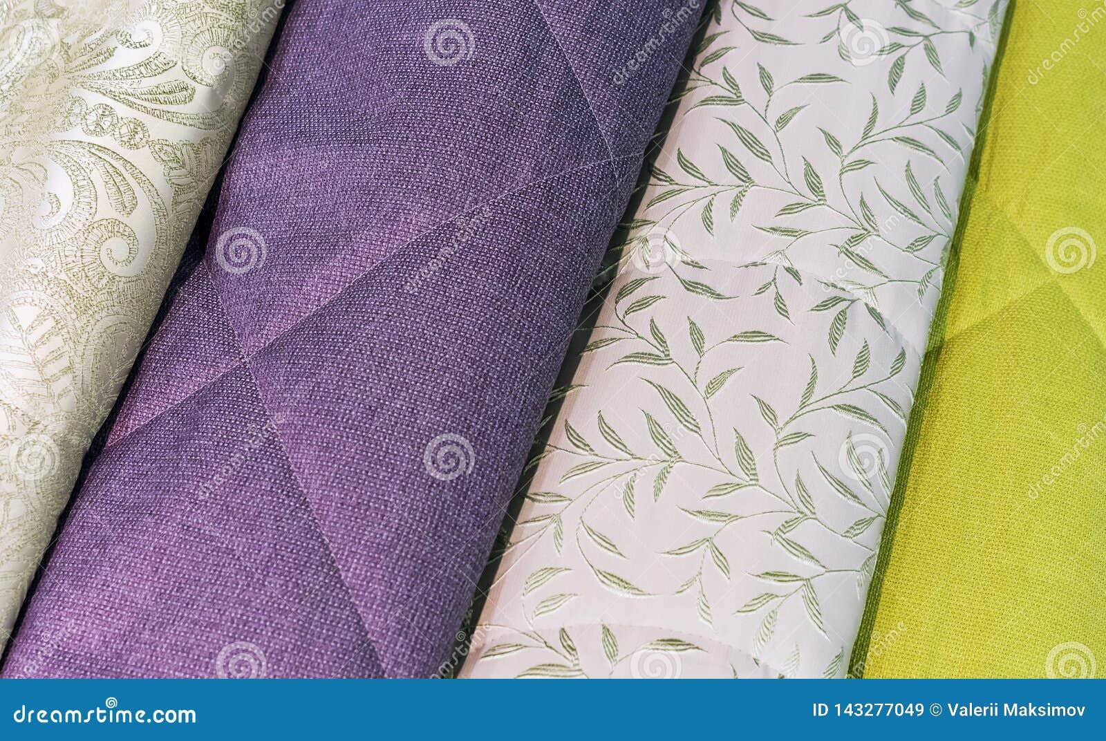 Покрывала в других цветах Предпосылка от ткани других цветов