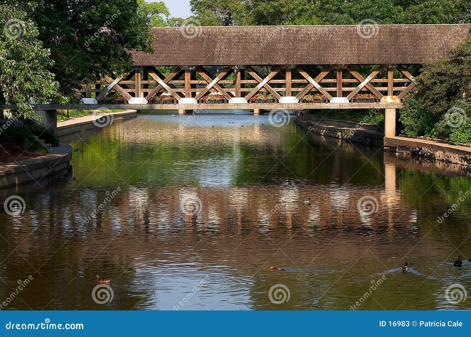 покрытый мост