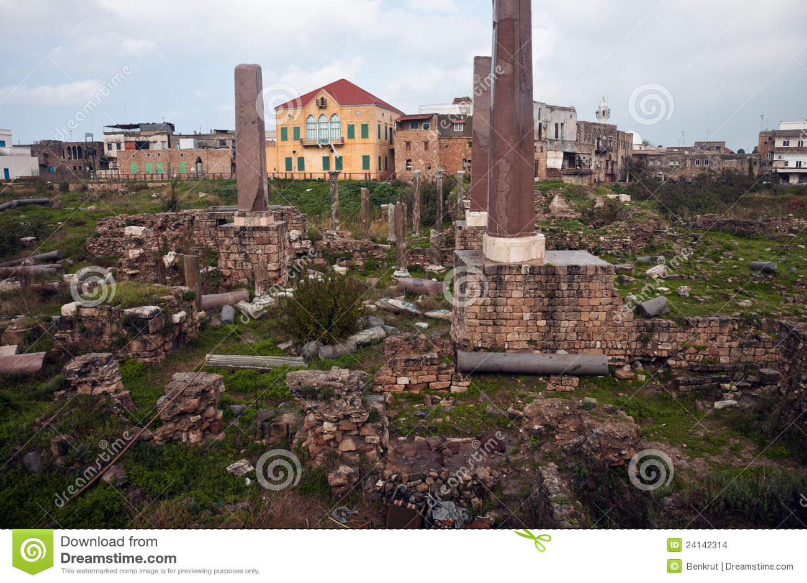 покрышка руин