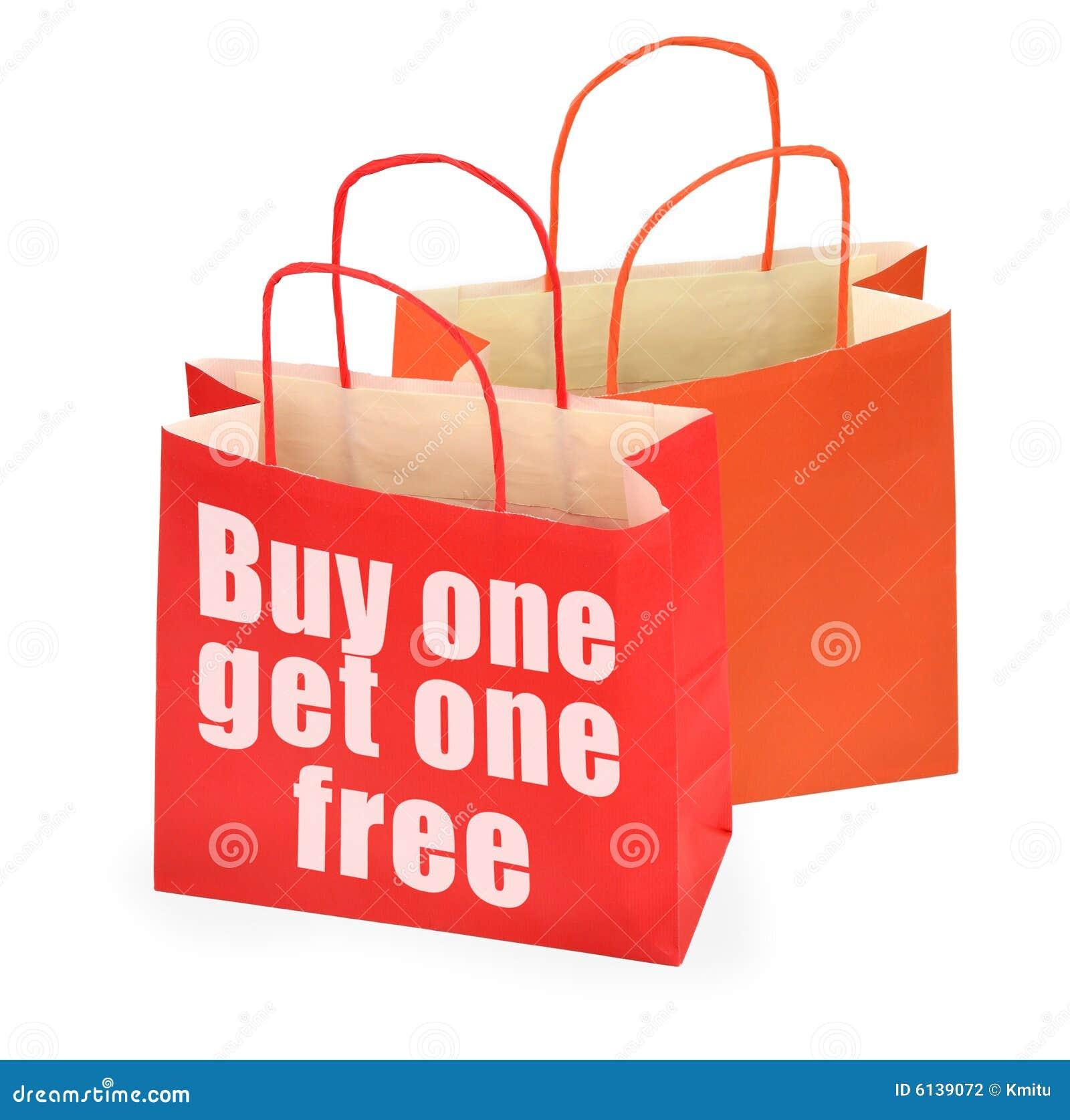 Покупка одно получает одно свободной