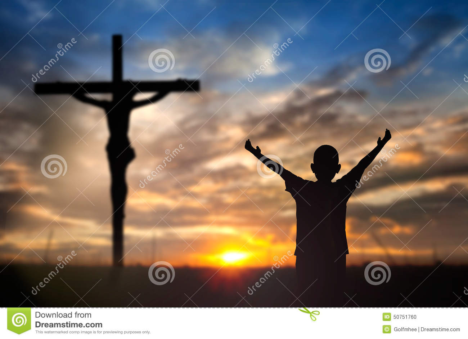 Поклонение Иисус на кресте