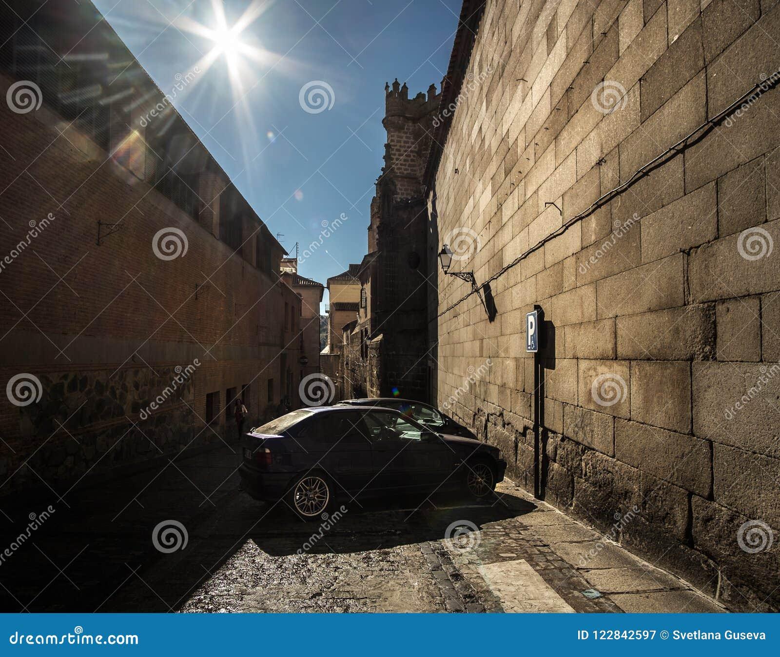 Полдень в Toledo Испания