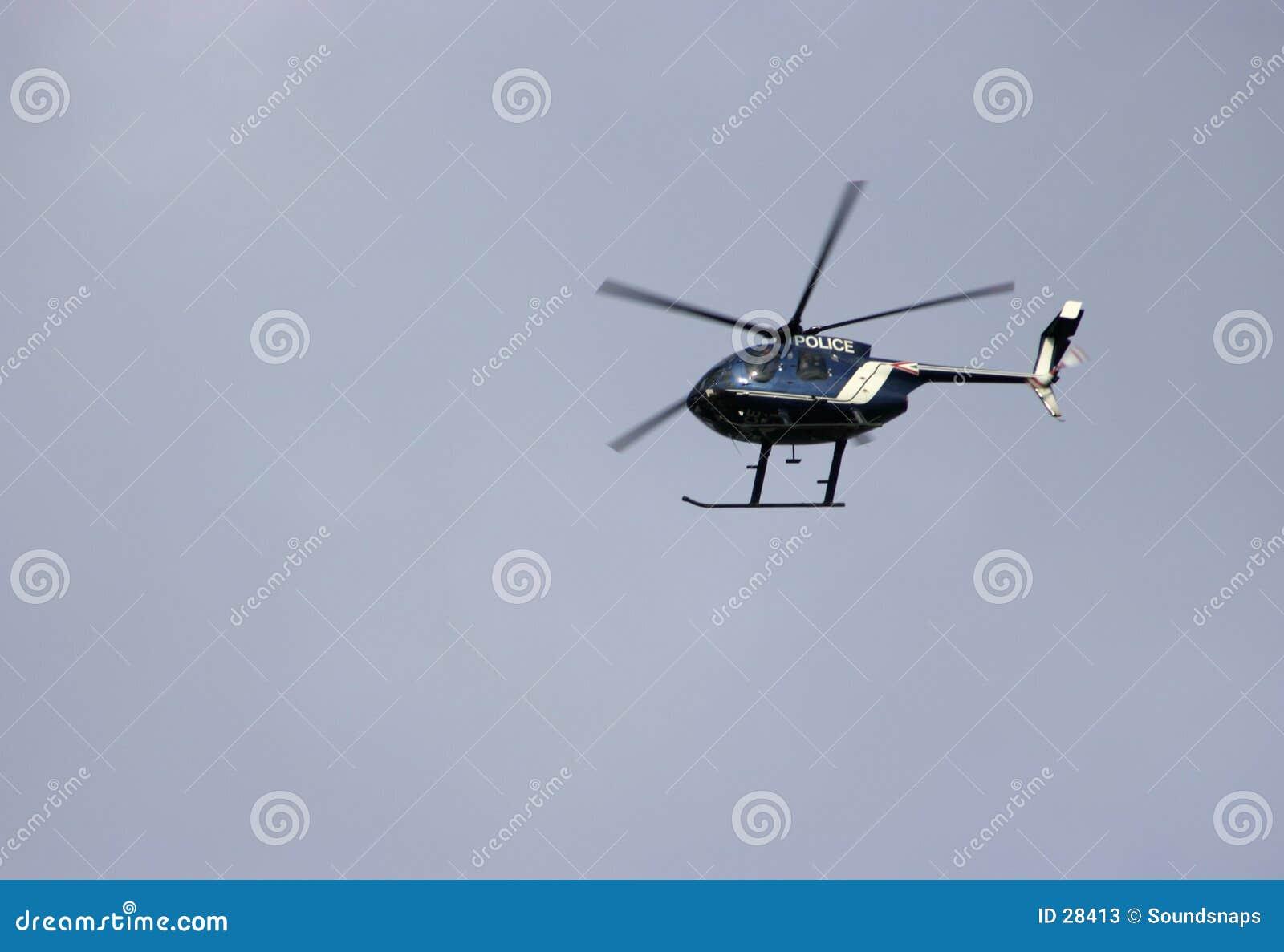 полиции вертолета