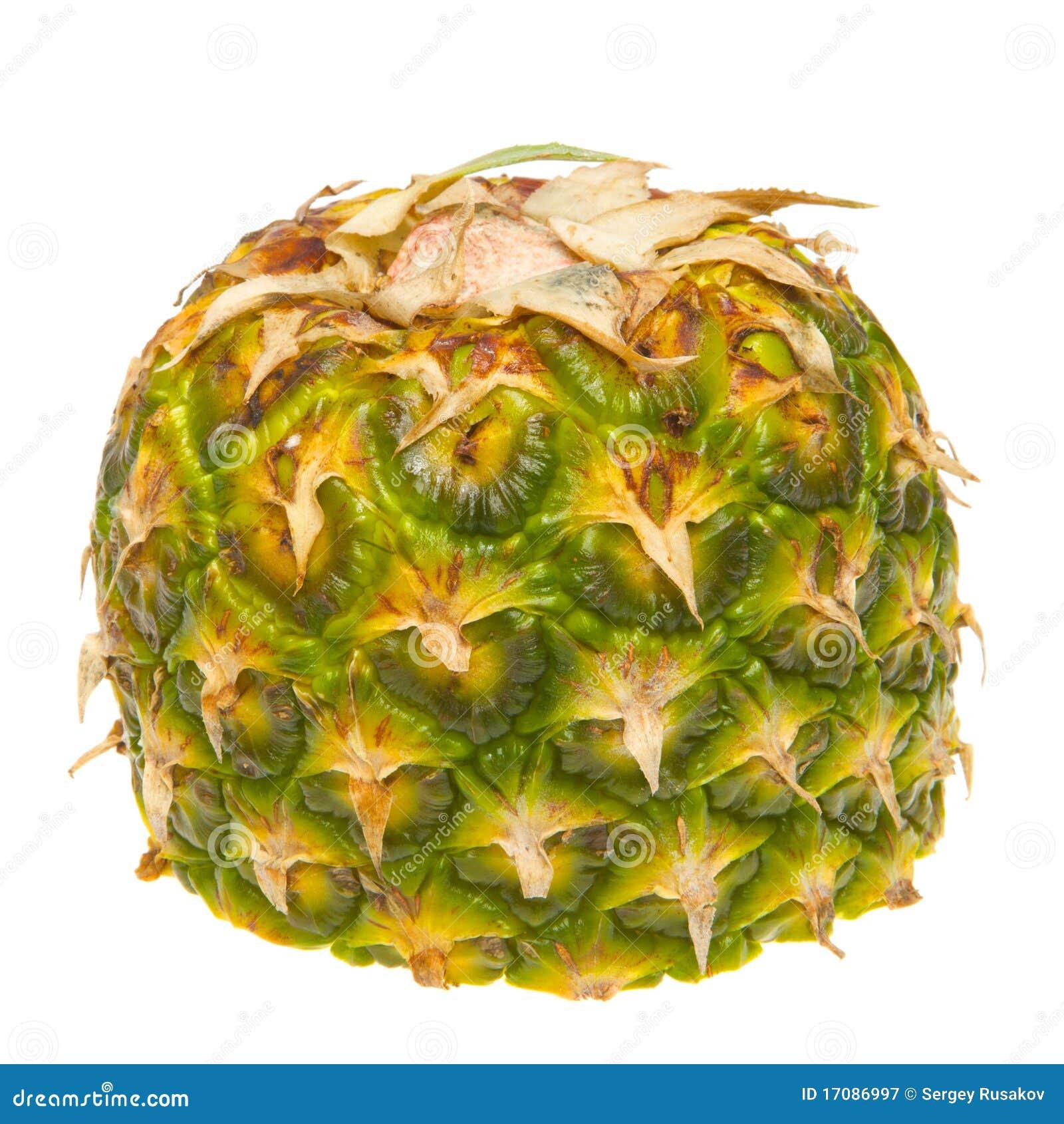 половинный ананас