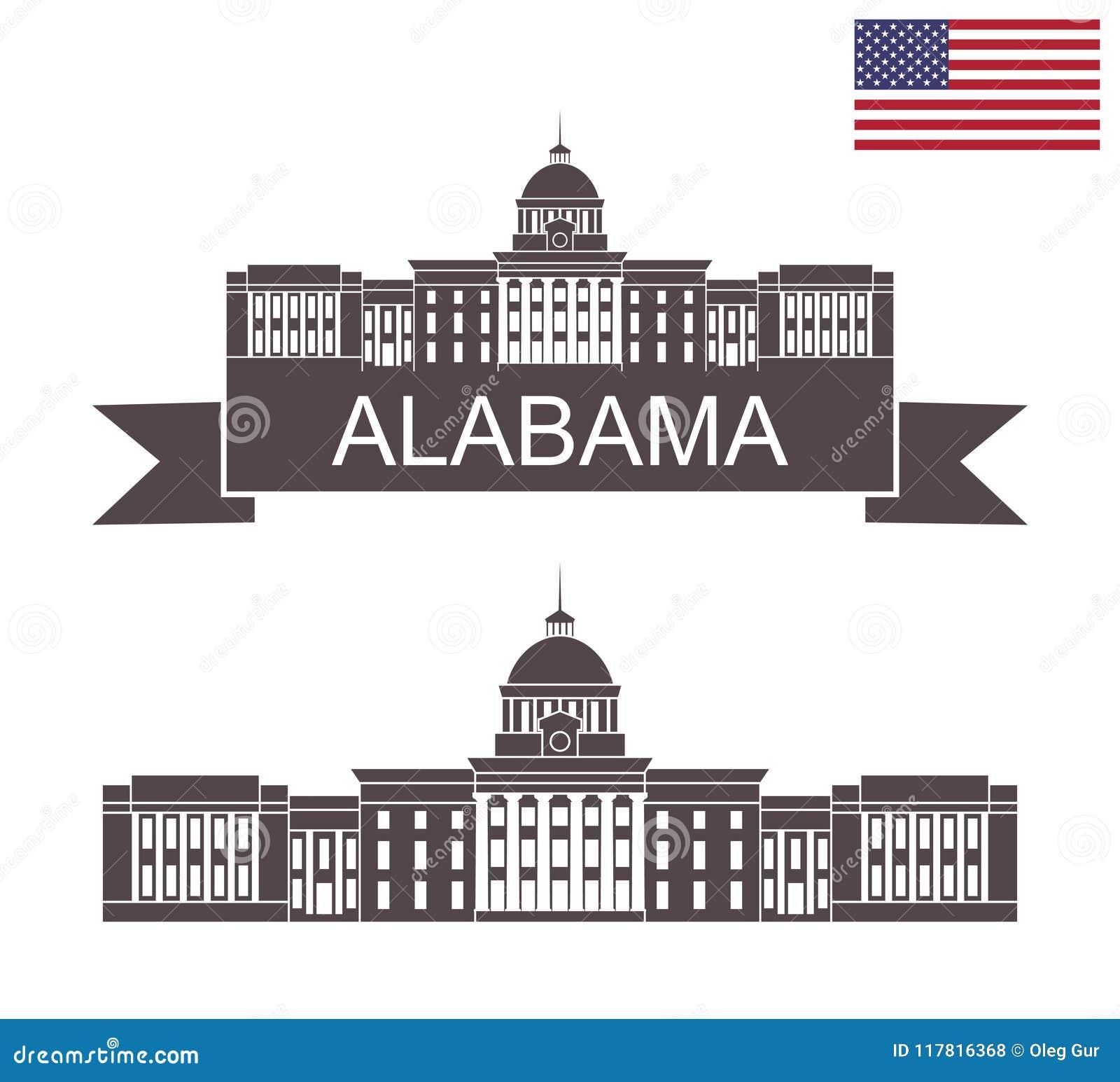 положение Алабамы Капитолий положения Алабамы в Монтгомери