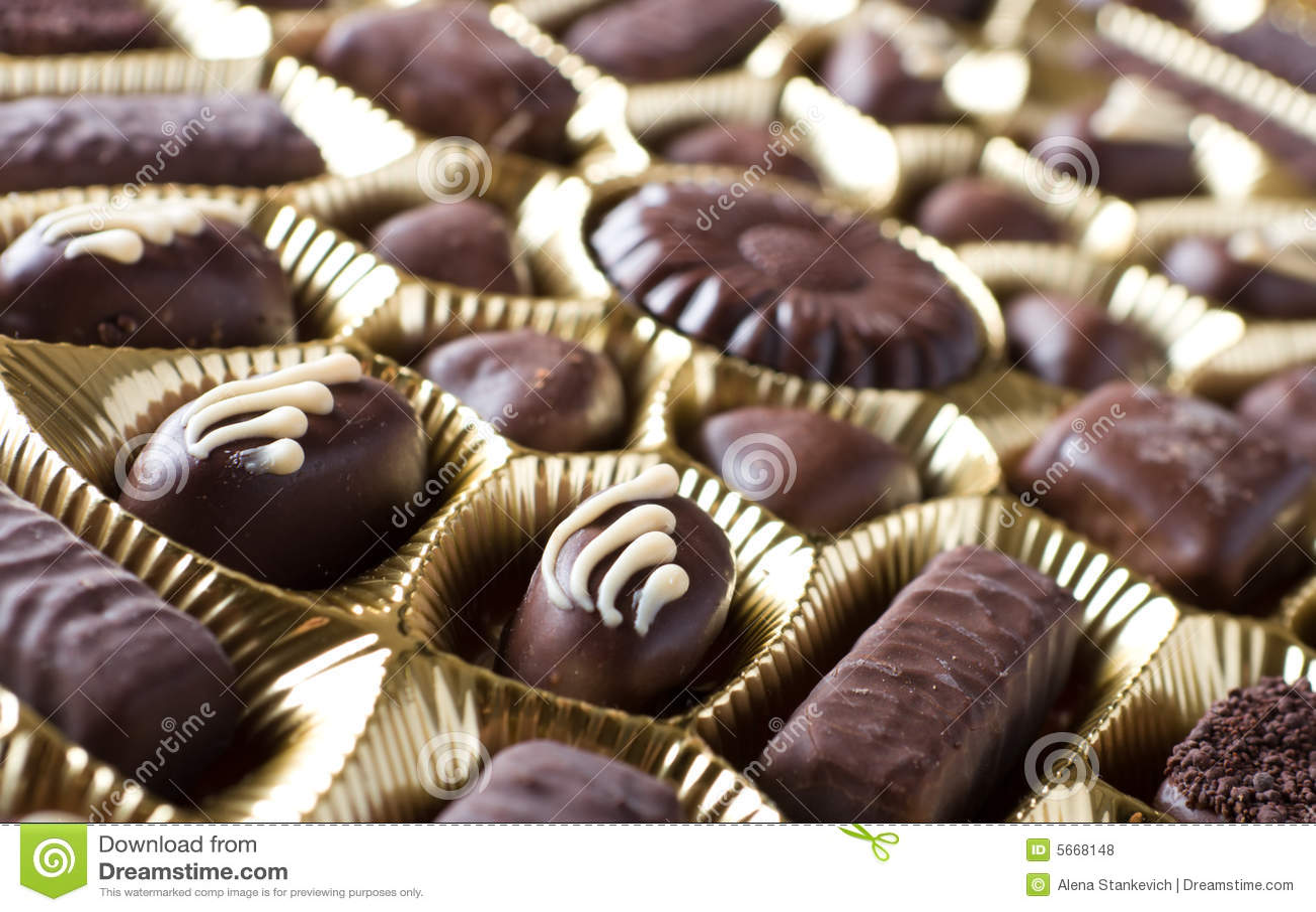 помадки шоколада