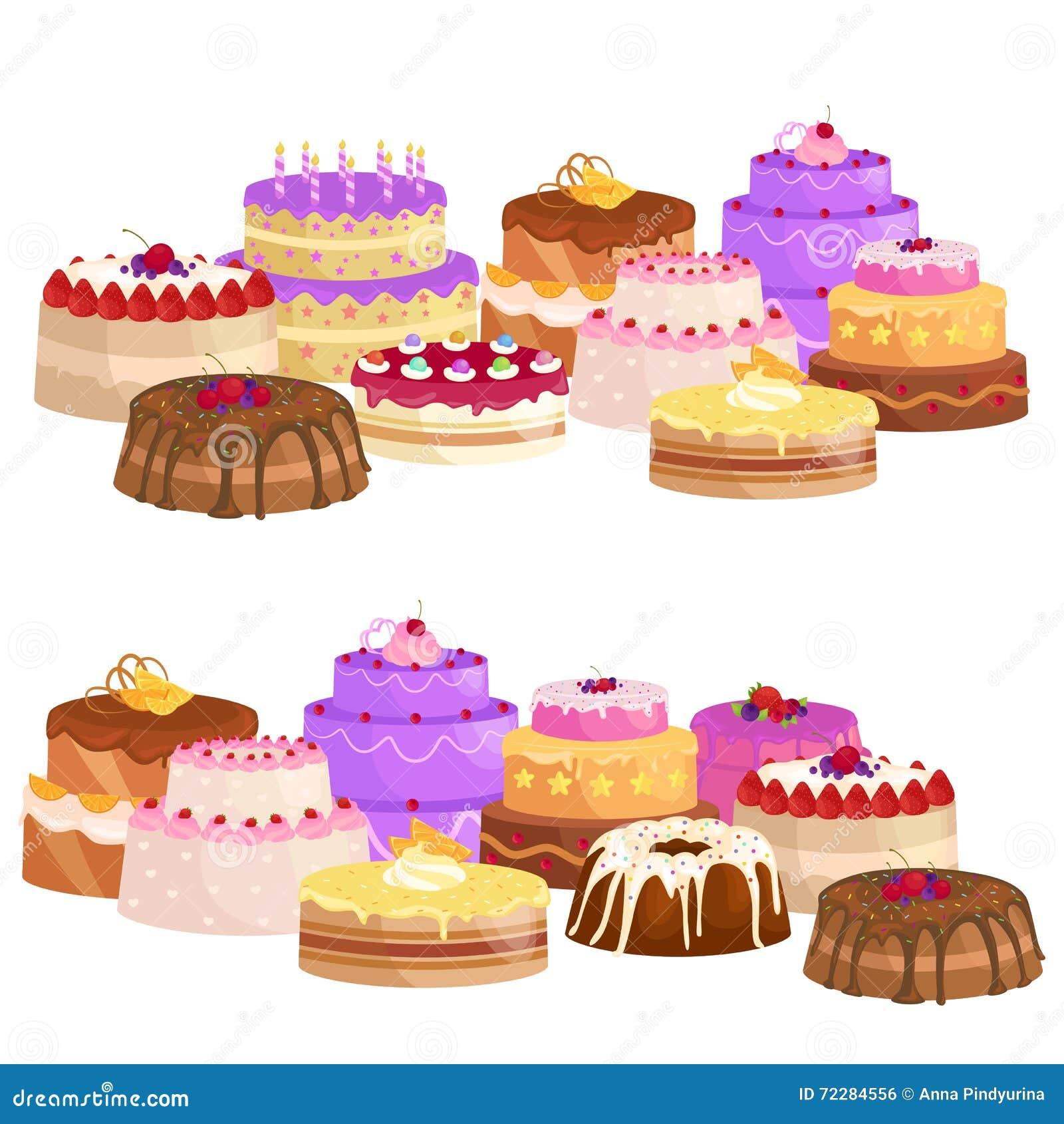 Download Помадки испекут с различный заполнять, комплект иллюстрации вектора десерта шоколада Иллюстрация вектора - иллюстрации насчитывающей пирожне, вкусно: 72284556