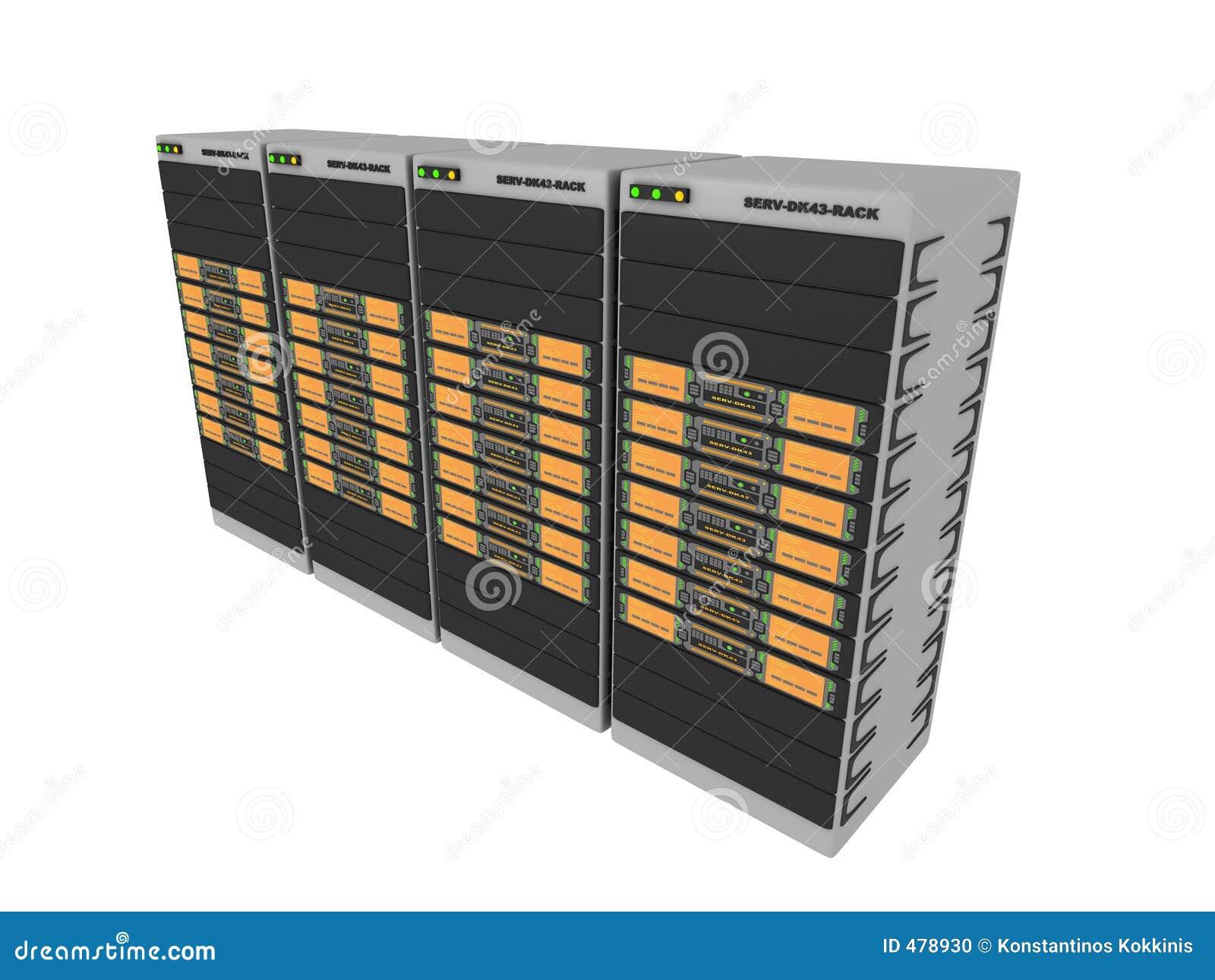 померанцовые серверы 3d 4