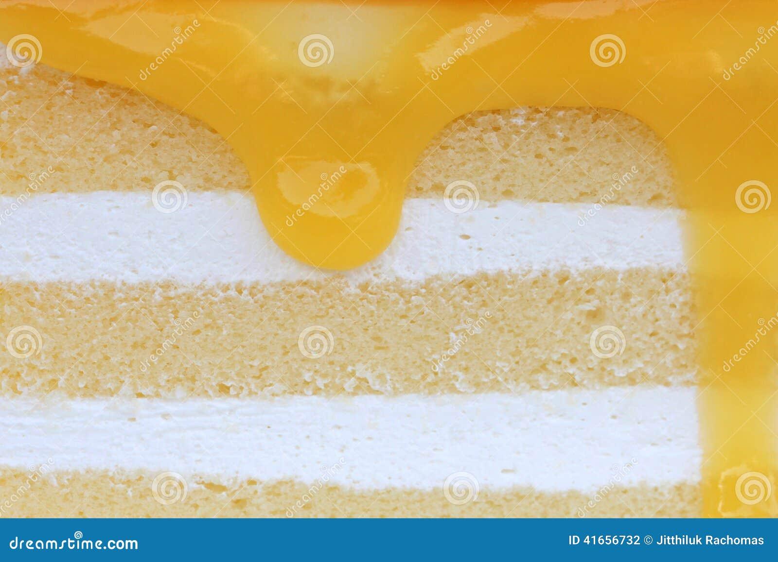 Померанцовый торт