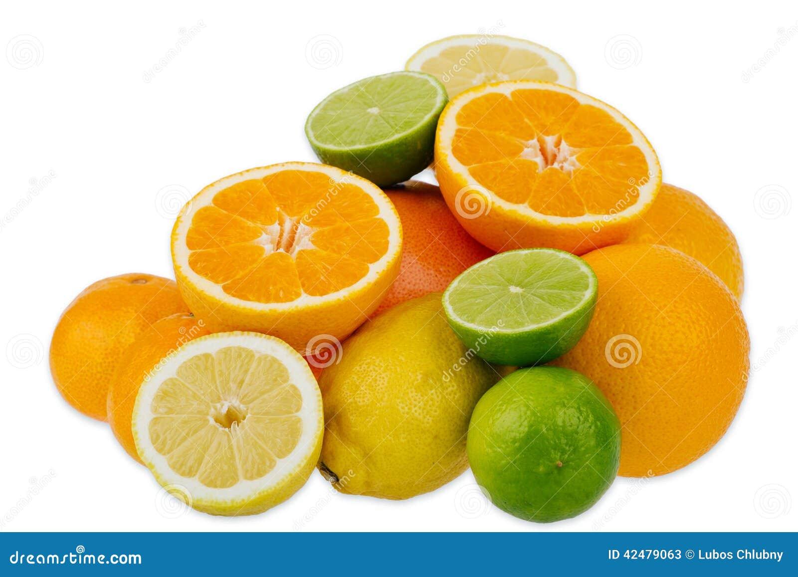 померанцы известок лимонов цитрусовых фруктов