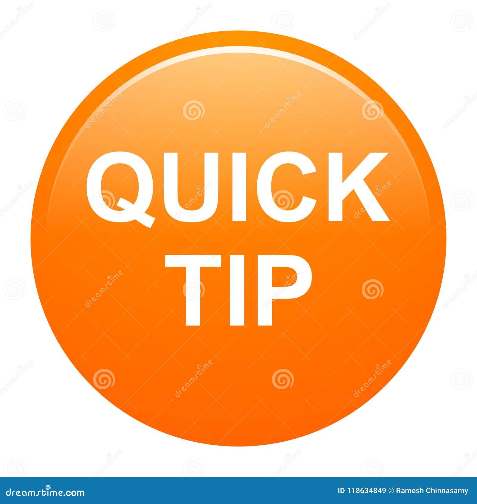 Помощь кнопки быстрой подсказки оранжевые круглые и концепция предложения
