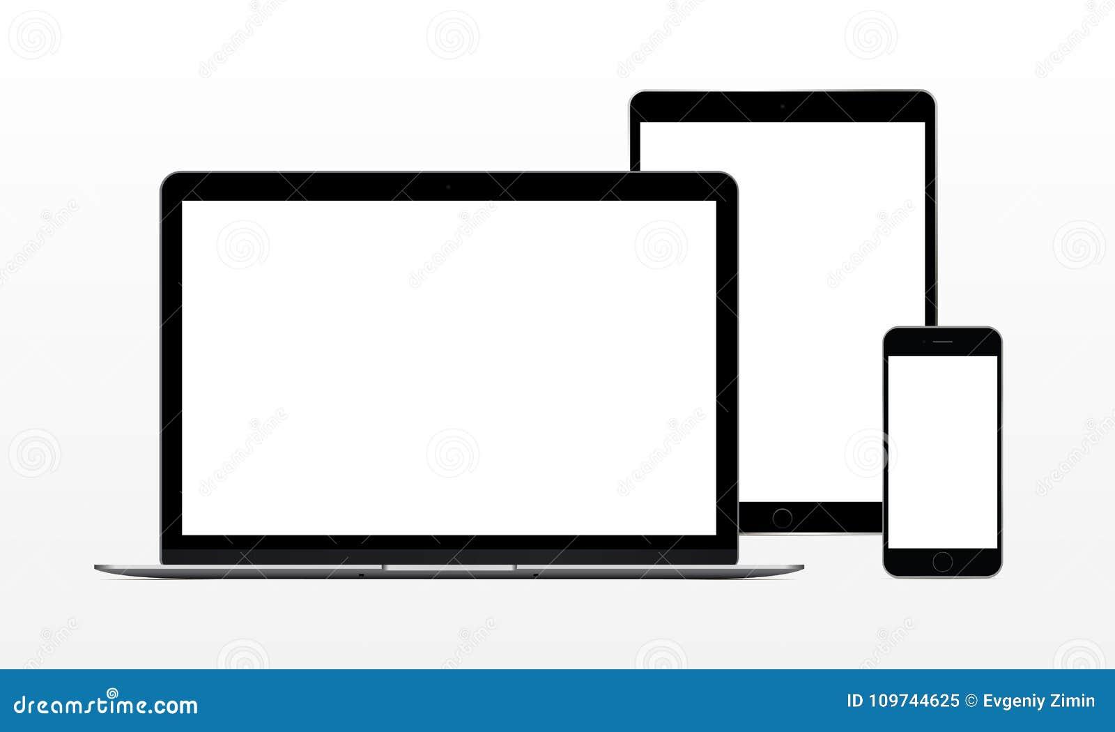 Портативный компьютер, таблетка, телефон