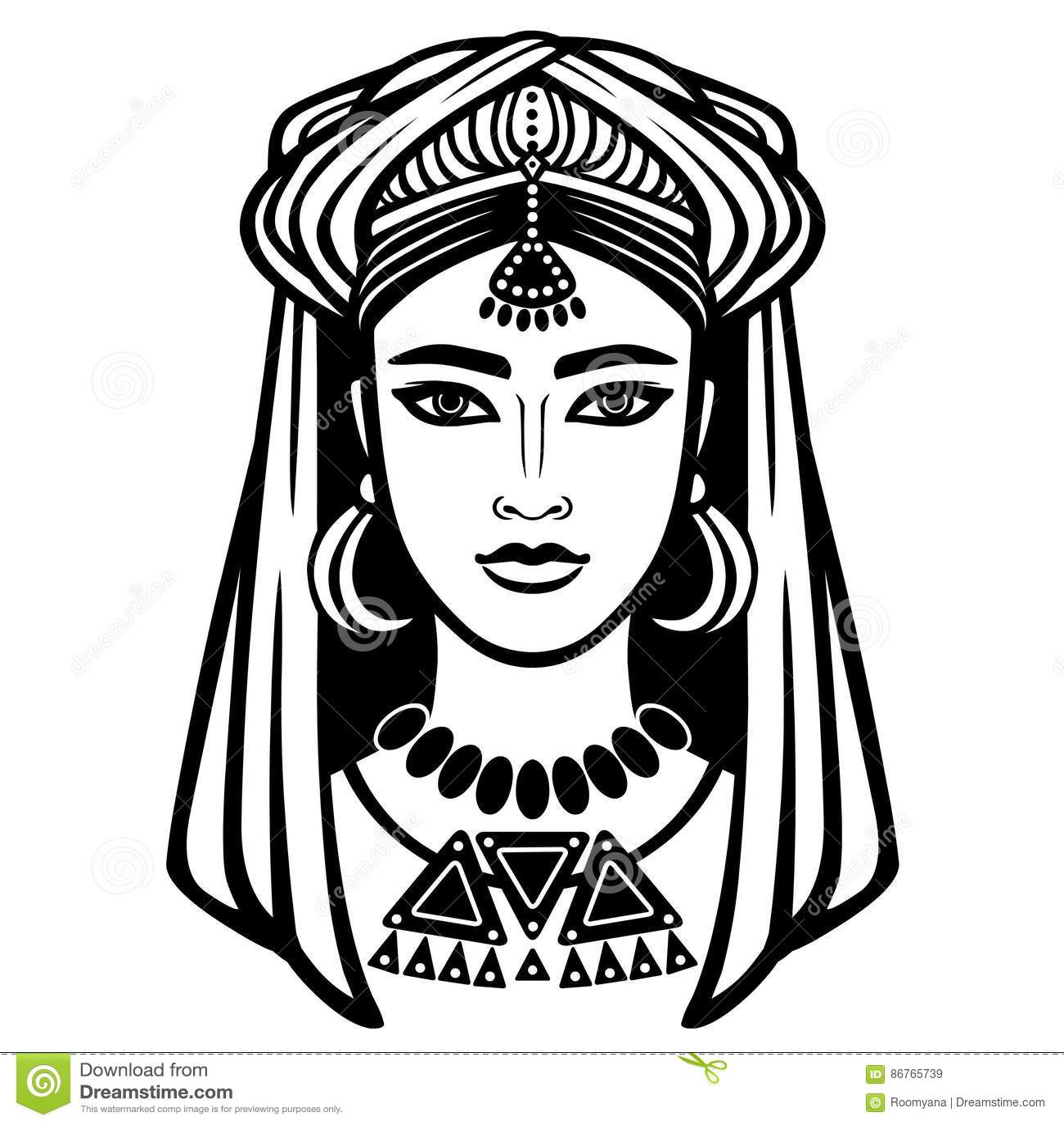 Образ арабской девушки фото