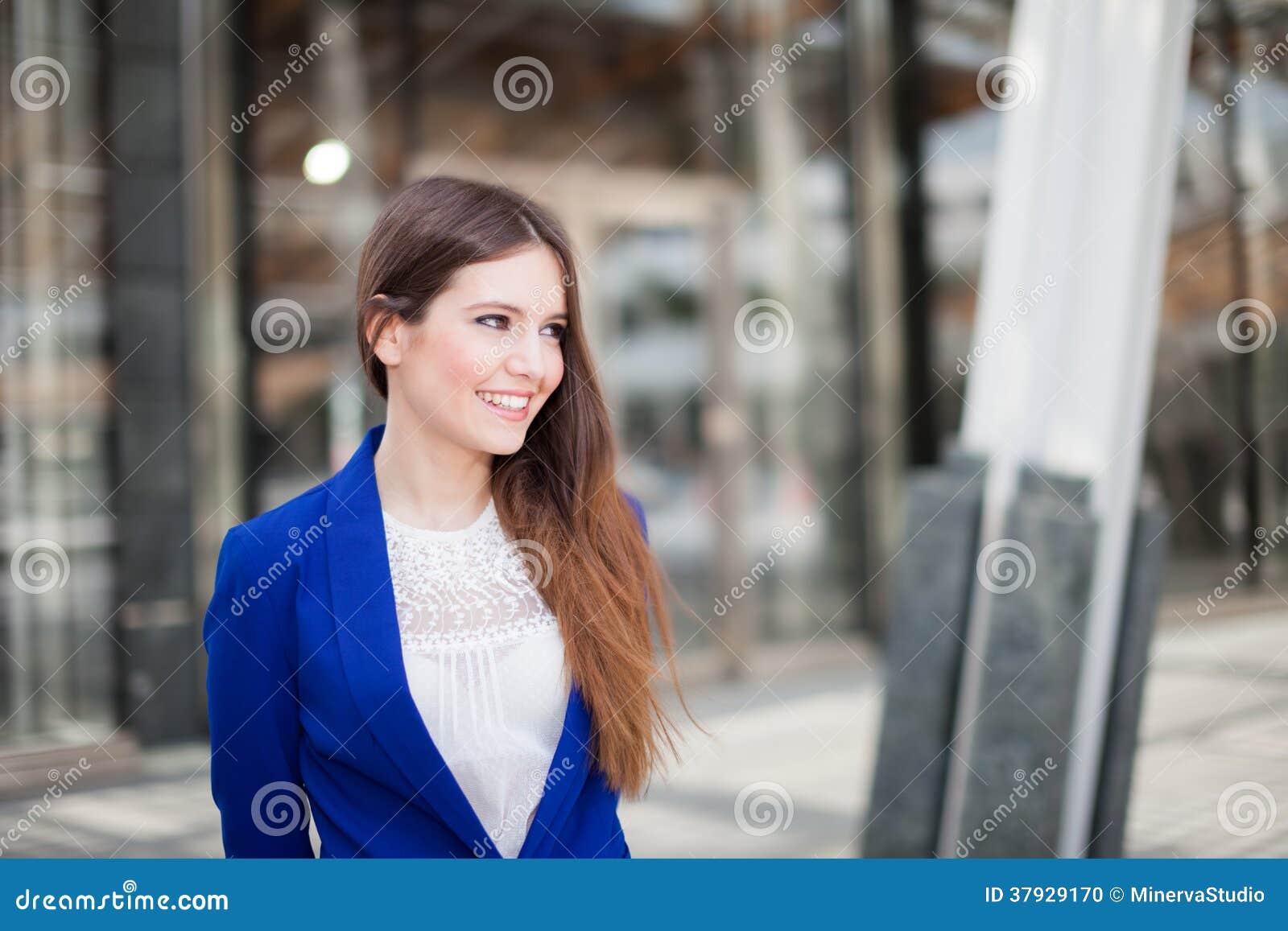 Портрет коммерсантки