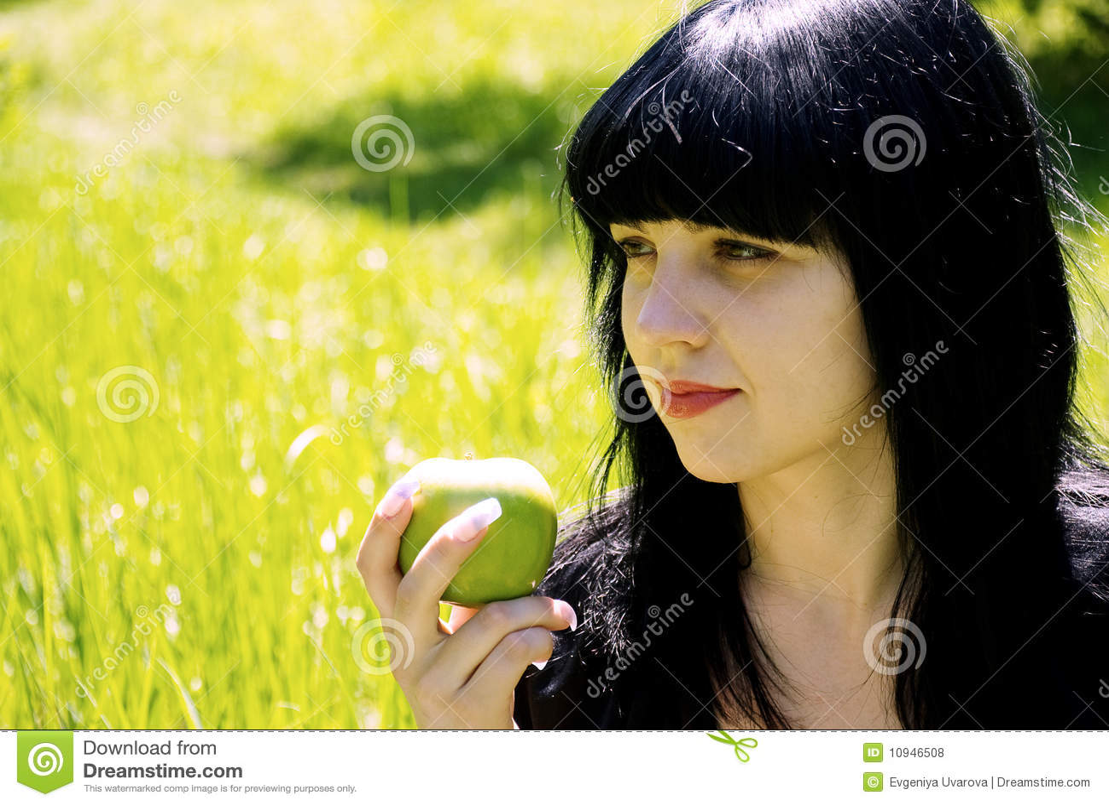 Портрет красивейшей женщины