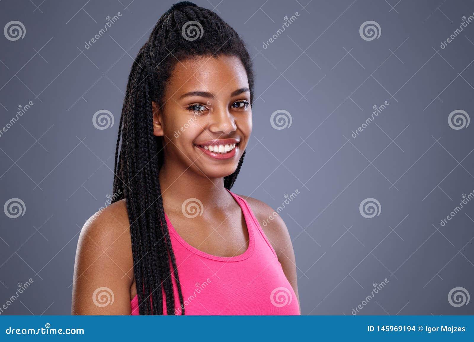 Портрет молодой африканской девушки