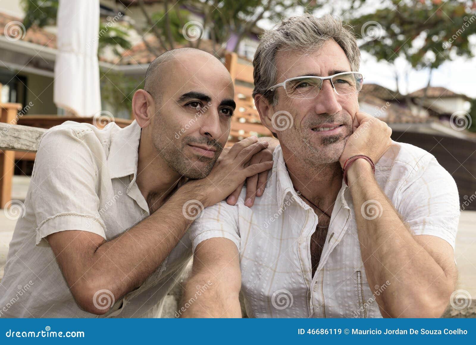 Портрет пары гомосексуалиста