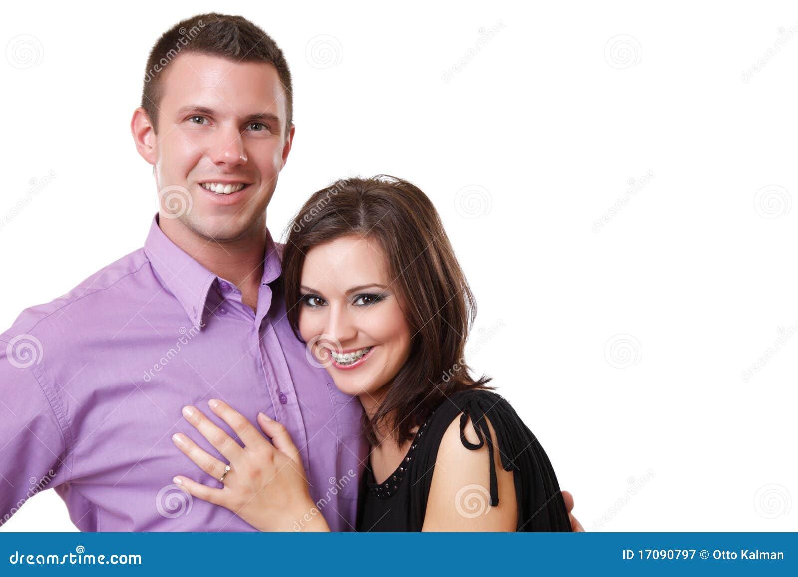 портрет пар шикарный