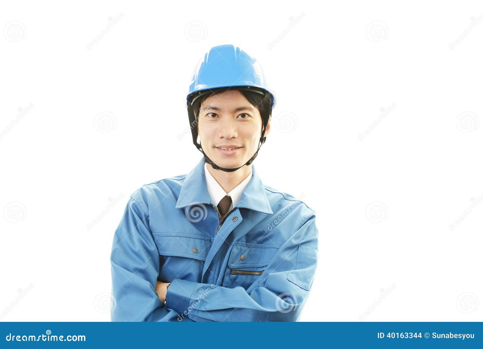 Портрет работника с трудной шляпой