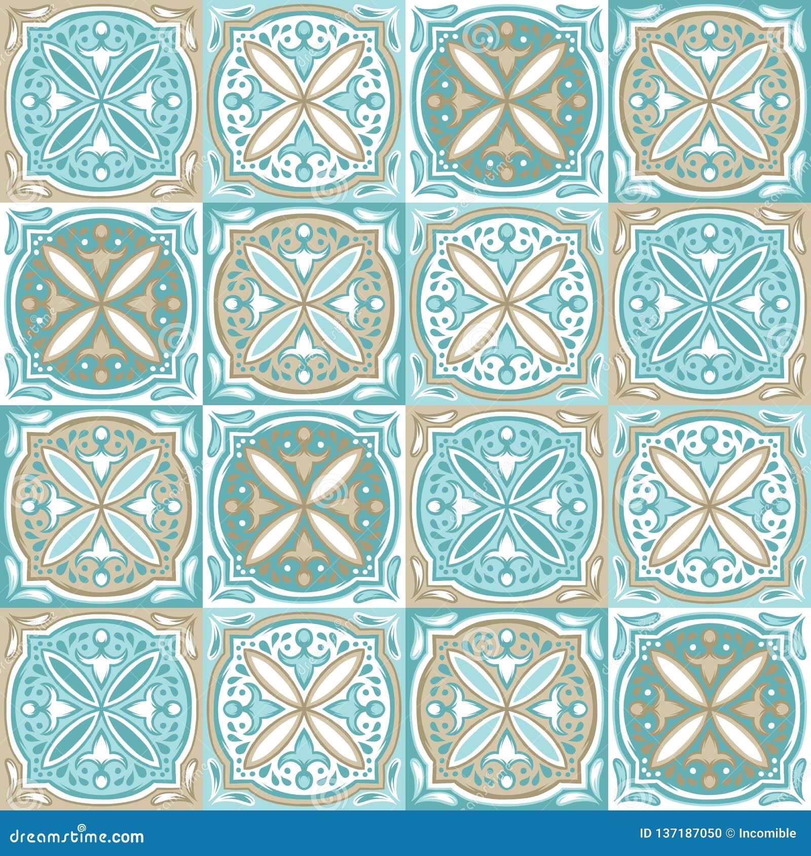 Португальская картина керамической плитки azulejo