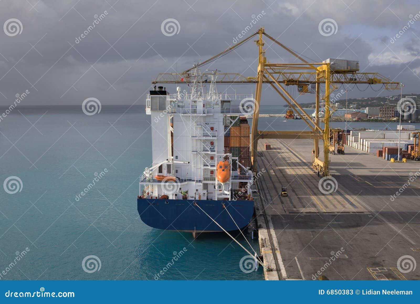 порт Барбадосских островов bridgetown