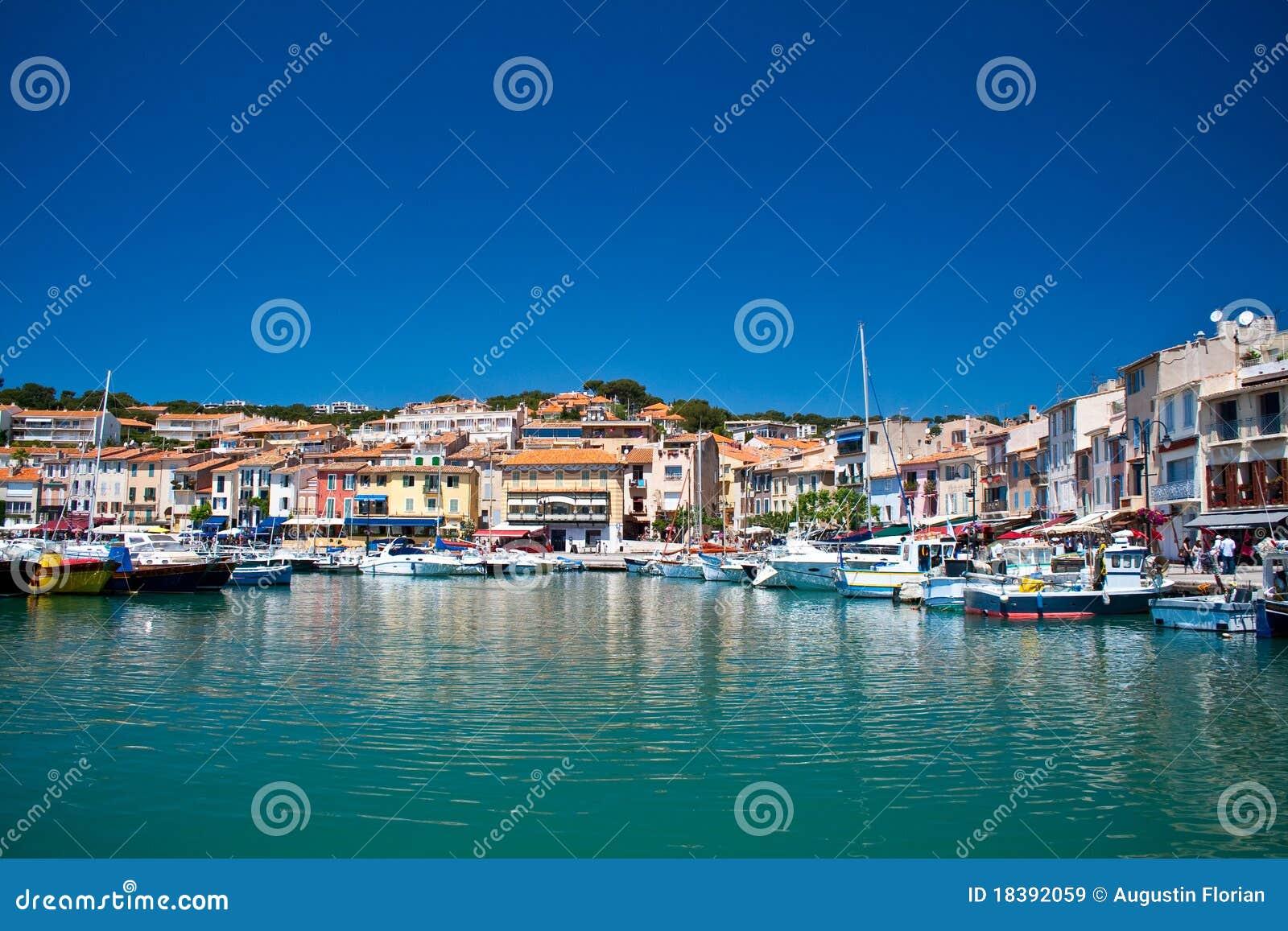 порт Франции cassis