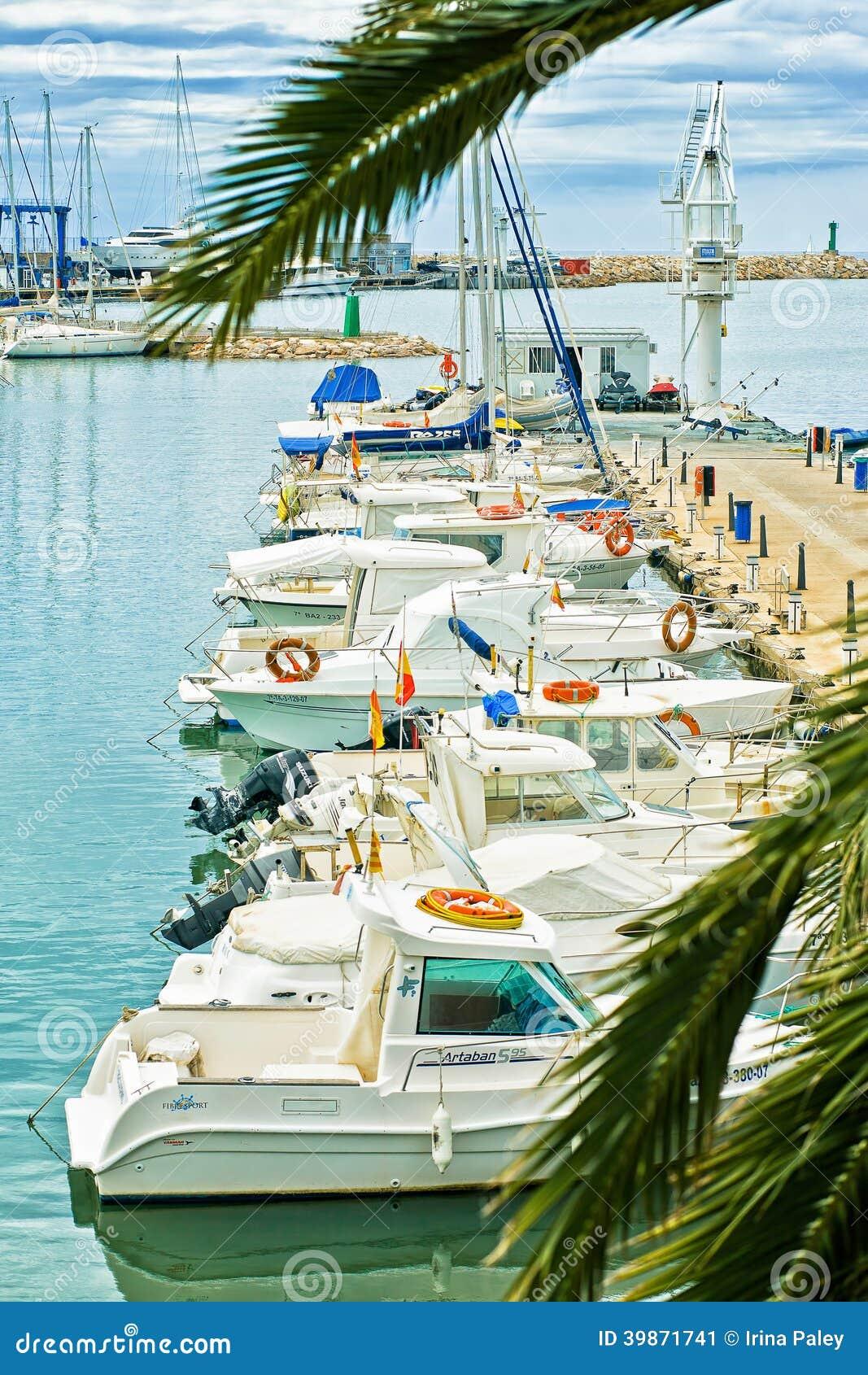 порт Cambrils, Косты Dorada, Испании