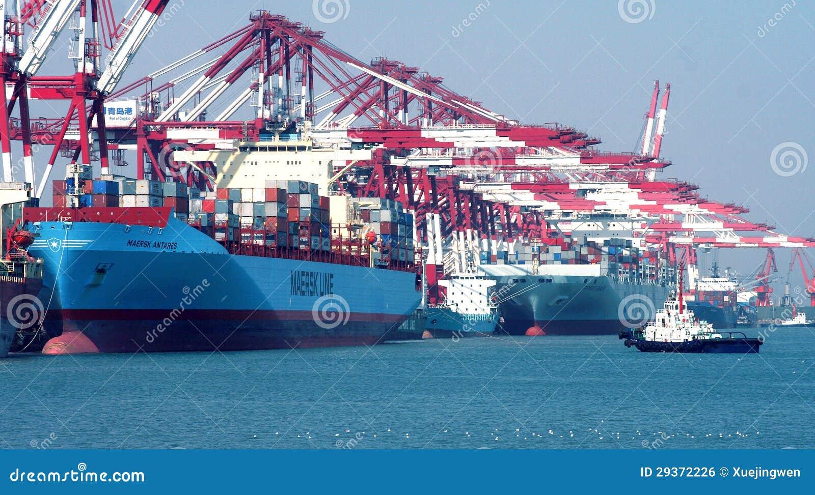 Порт Qingdao