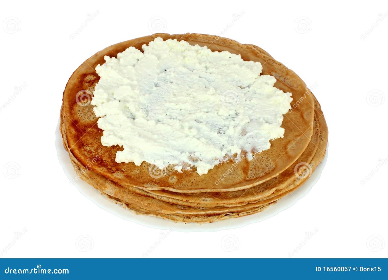 посоленный блинчик сыра