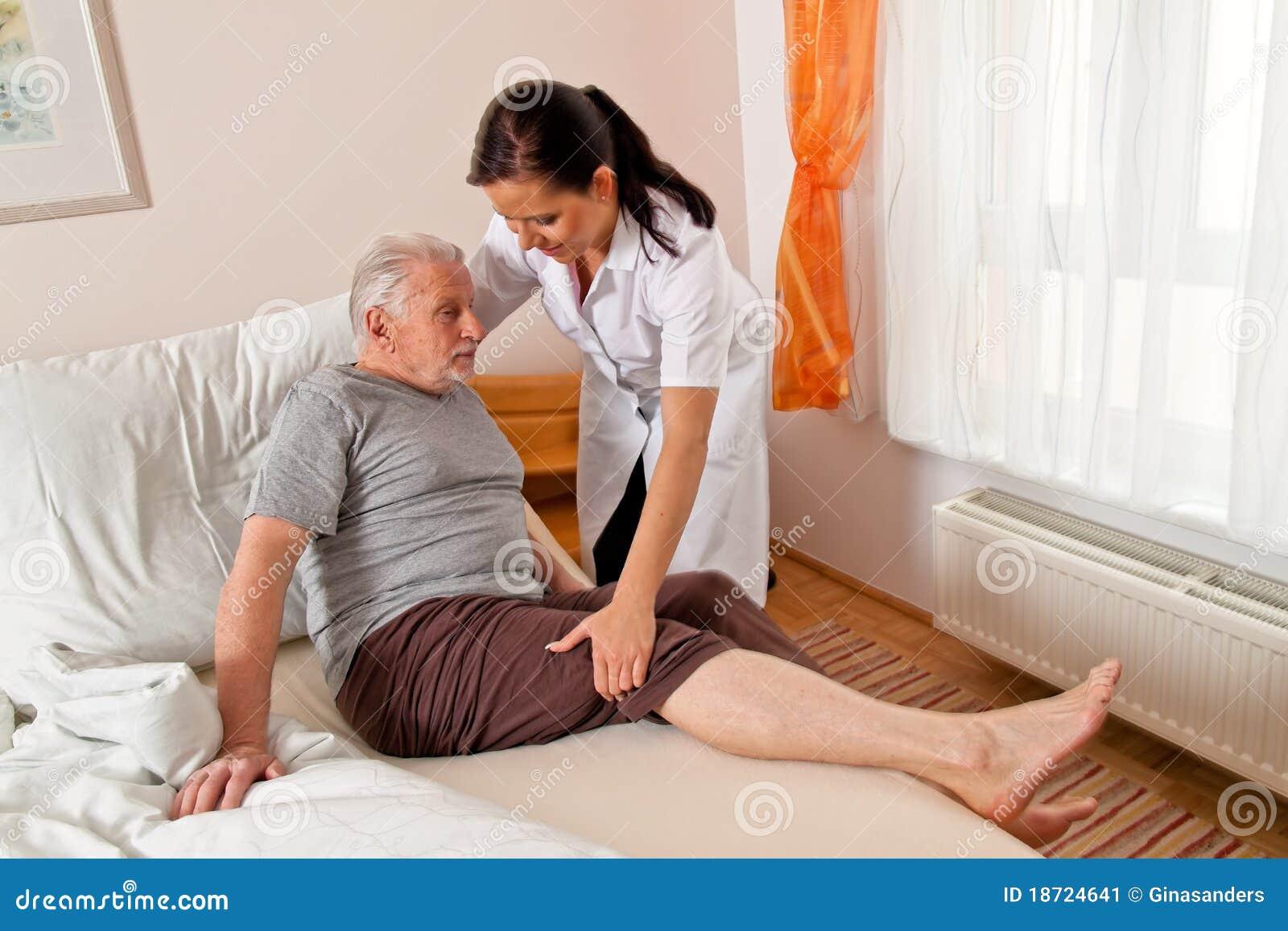 постаретая нюна пожилых людей внимательности