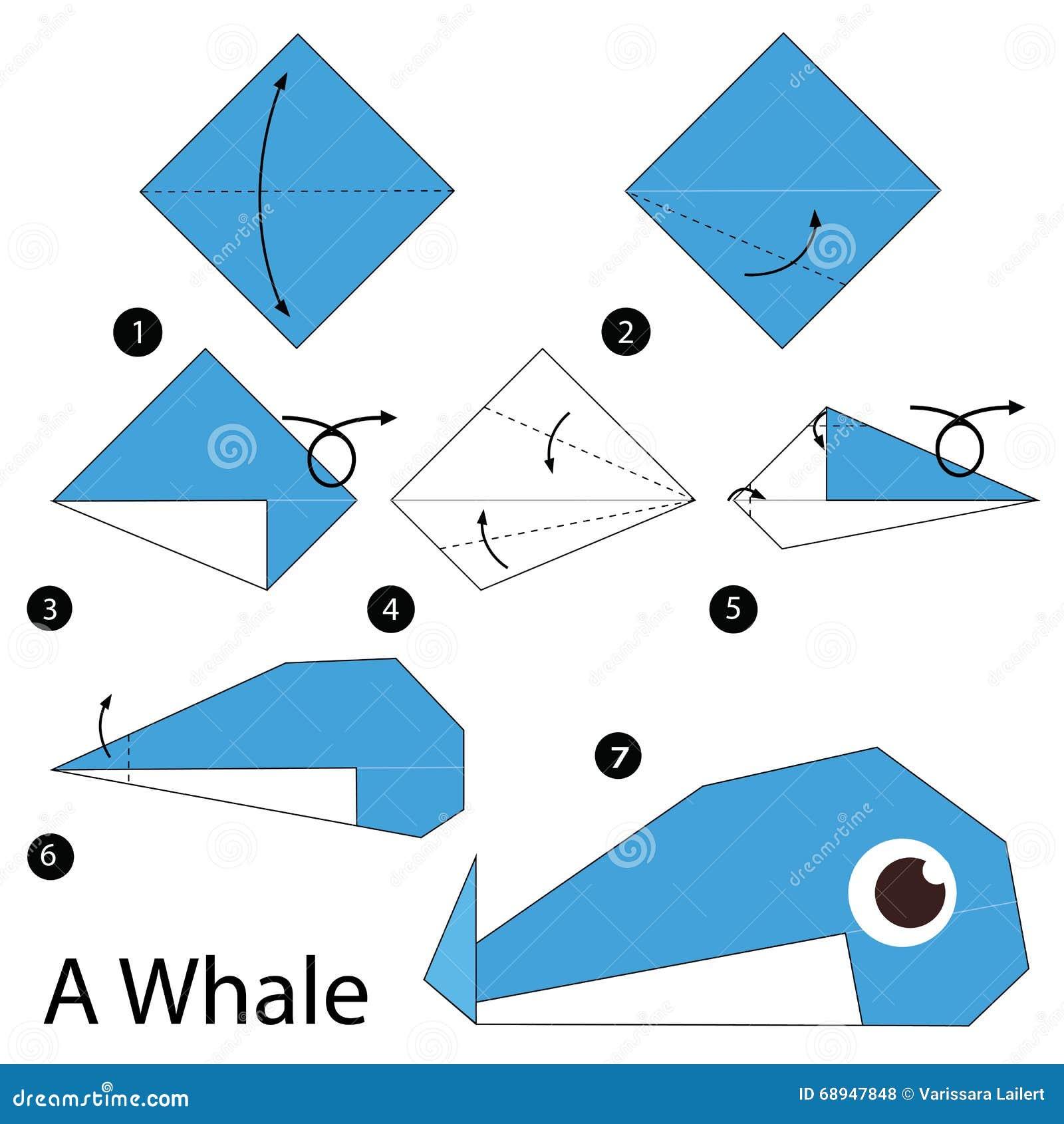 Как сделать кита на