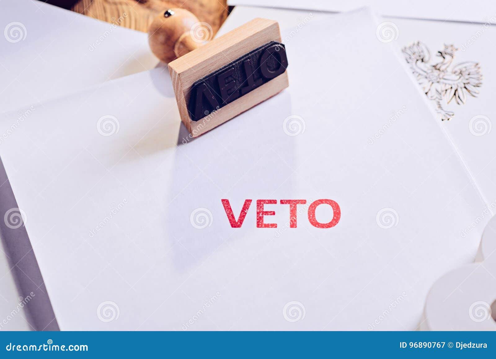 Поступок закона с красным штемпелем вето