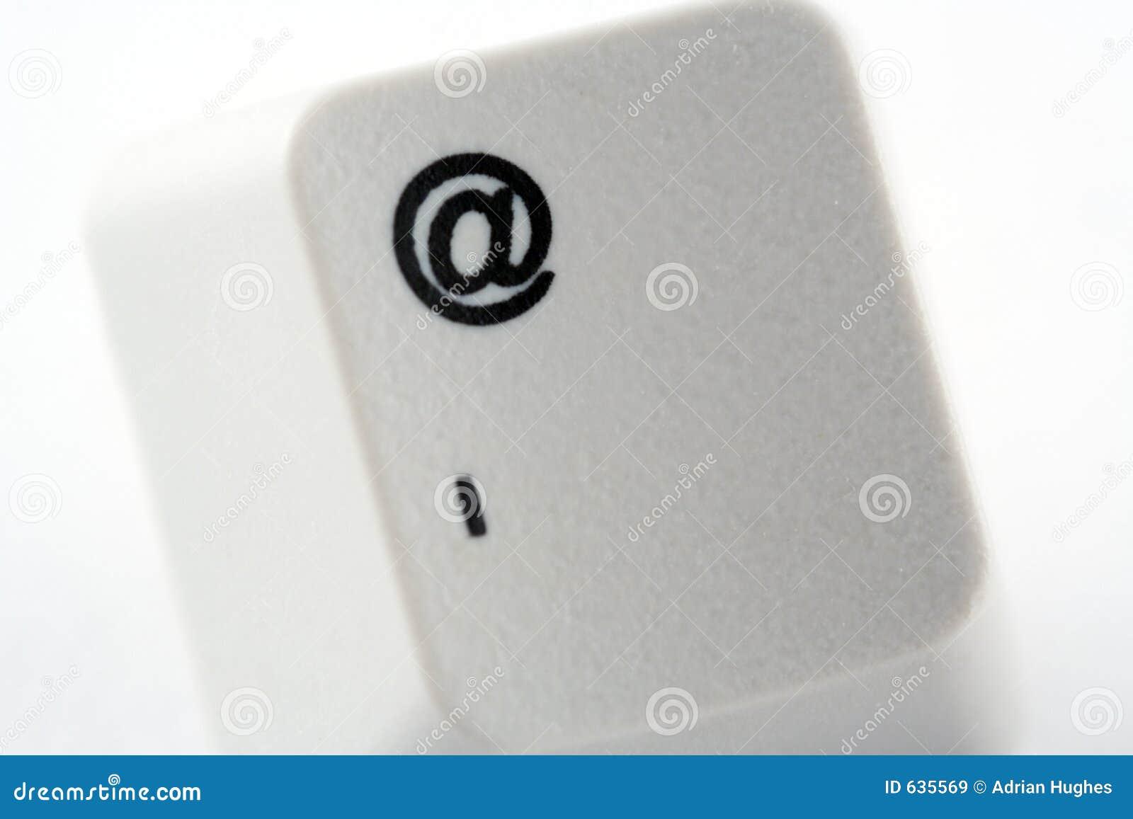 Download посылайте ключа по электронной почте Стоковое Изображение - изображение насчитывающей сеть, тип: 635569
