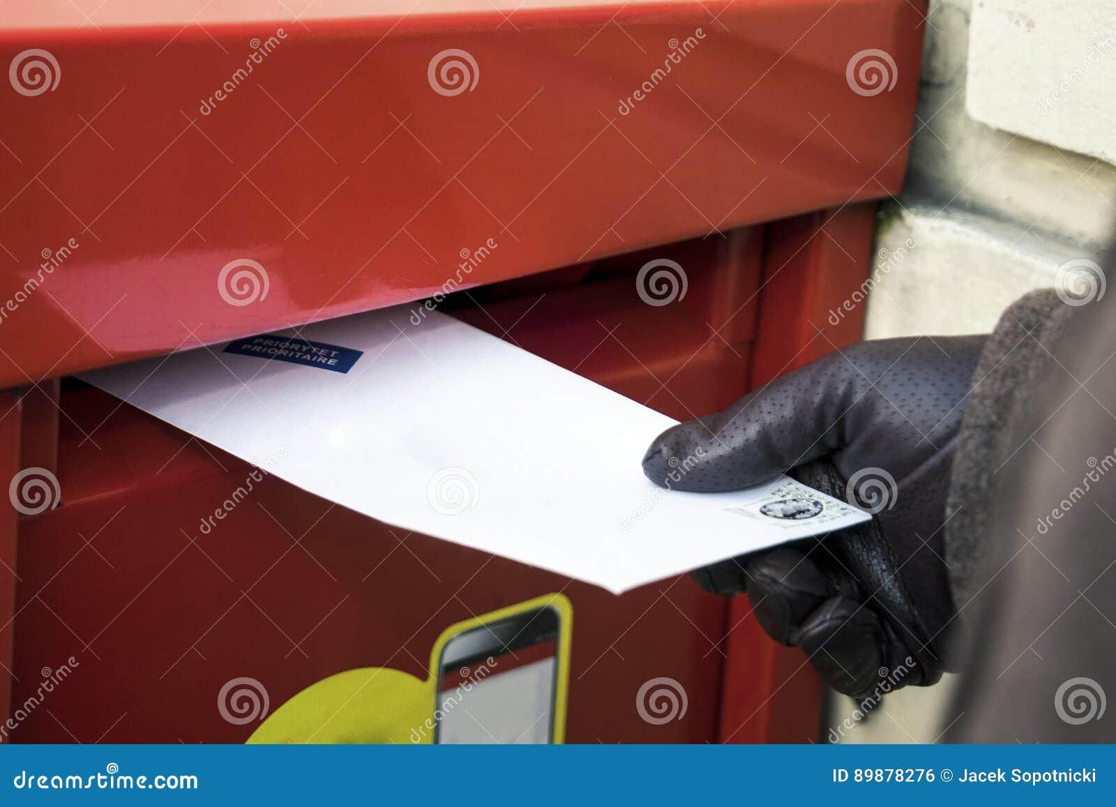 Посылка письма