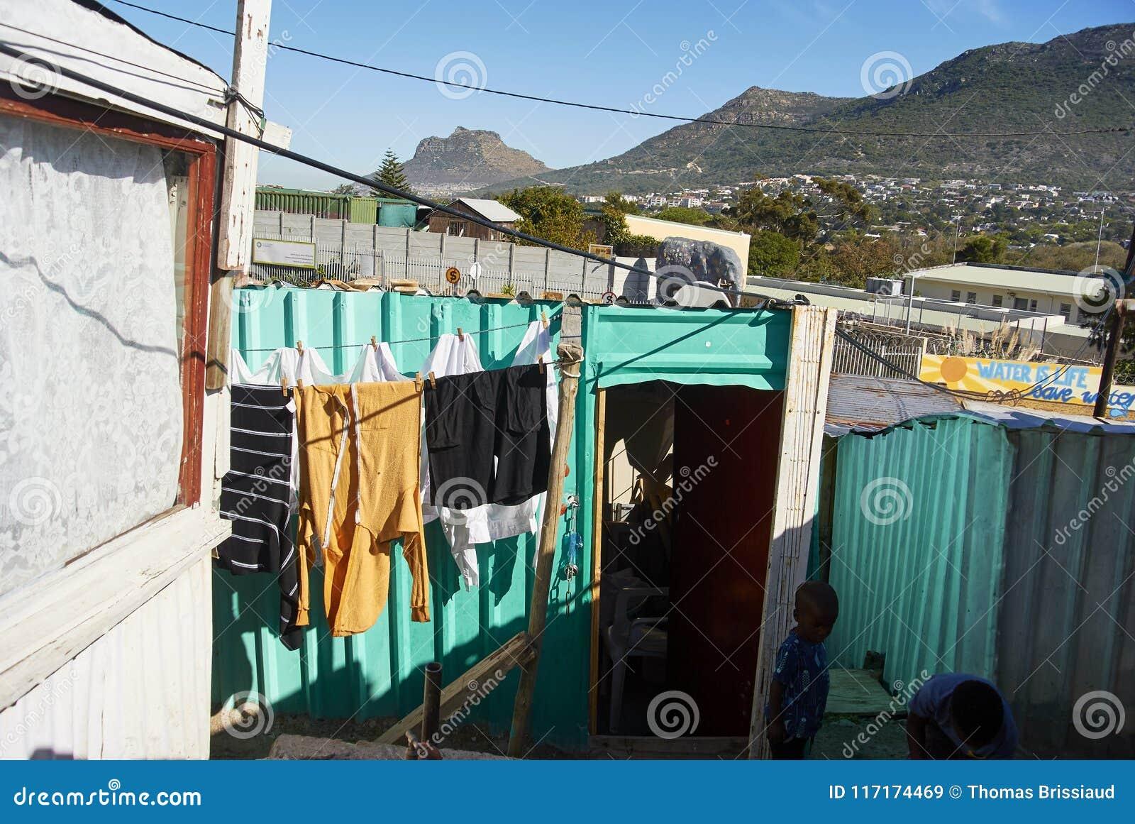 Посёлок Imizamo Yethu в Южной Африке