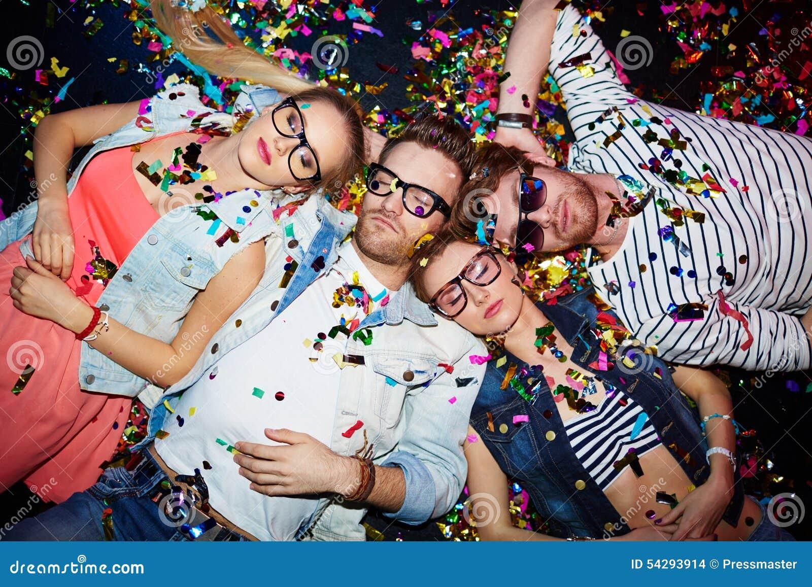 После партии