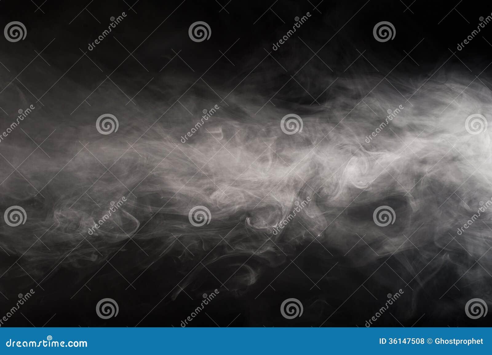 Поток дыма