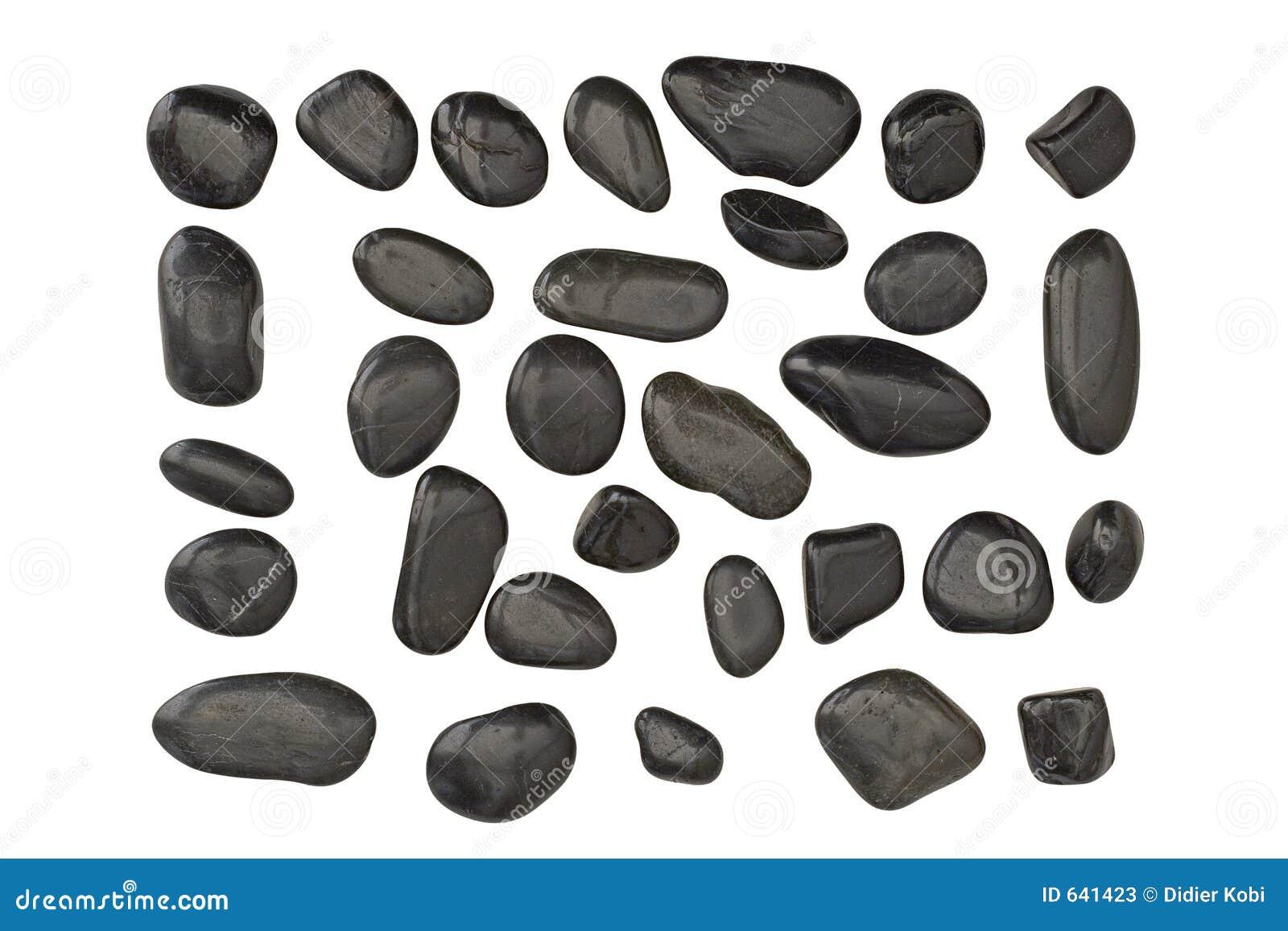 Download почерните камушки стоковое изображение. изображение насчитывающей stole - 641423